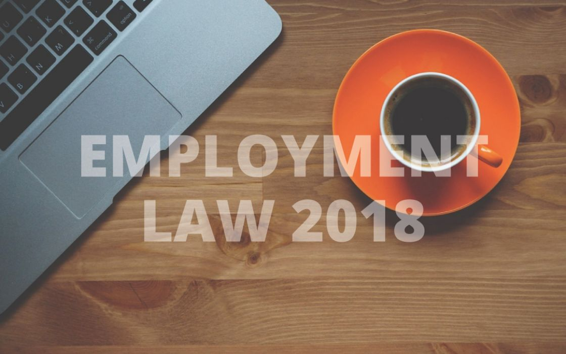 Employment Law Overview - 2018
